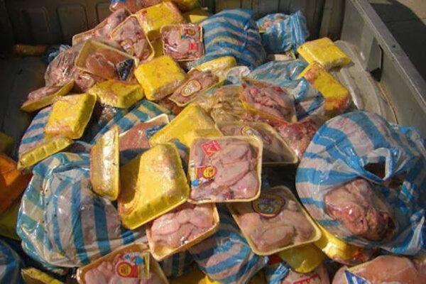 معدوم سازی 2 تن ضایعات مرغ در ساوجبلاغ