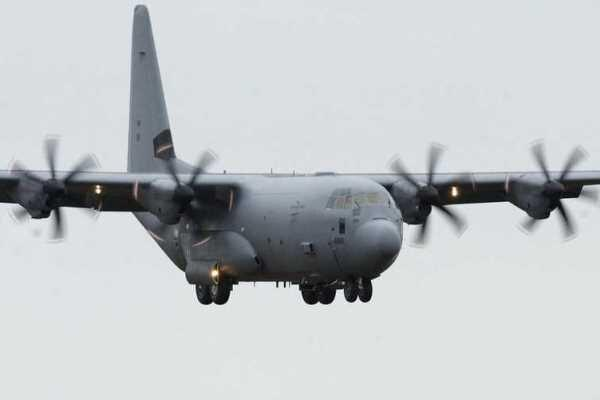 فرود ناقص هواپیمای نظامی آمریکا در التاجی عراق