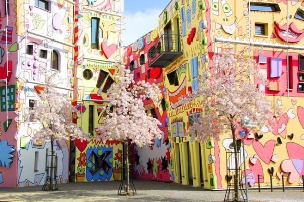 خیابان های رنگارنگ در اروپا